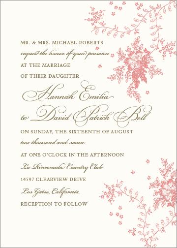 Wedding invitation letterpress designs matthew kelsey printer featured design a stopboris Gallery